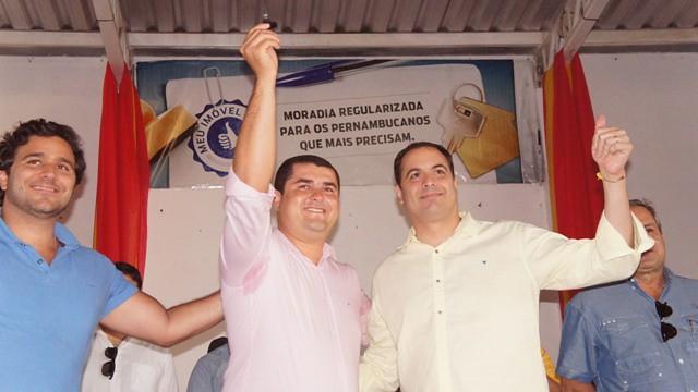 Visita do governador Paulo Câmara