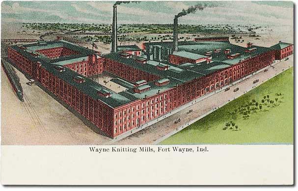 Chicago Knitting Mills : Wayne knitting mills fort indiana flickr photo