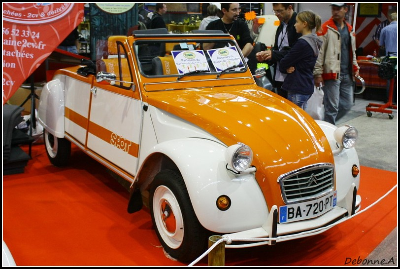 citroen 2cv spot azelle citro n 2cv spot cabriolet. Black Bedroom Furniture Sets. Home Design Ideas