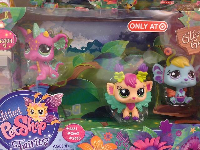 Littlest Pet Shop Fairies With Dragon Flickr Photo