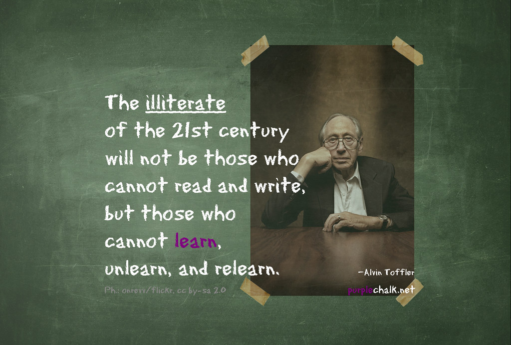Learn, Unlearn And Relearn: How To Stay Current And Get Ahead