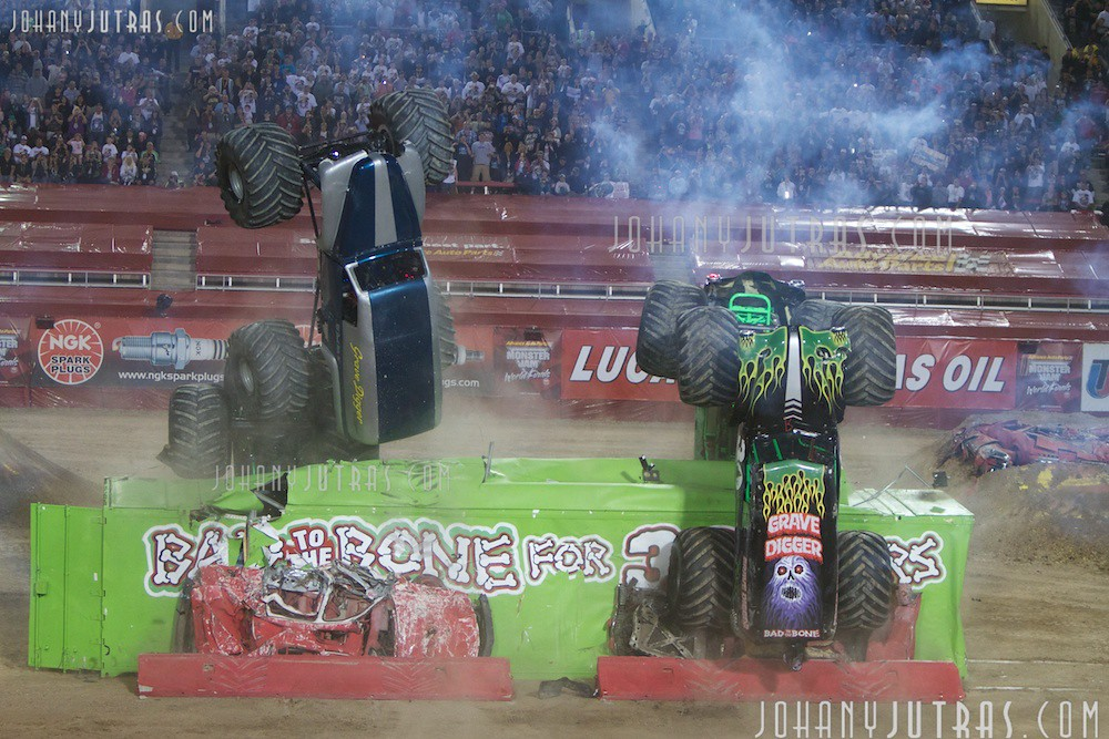 Monster Jam Las Vegas >> Grave Digger(s) | Monster Jam World Finals in Las Vegas, Mar… | Flickr