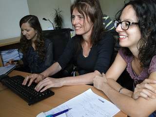 Marja Holecyova - Bratislava office WageIndicator - SEO specialist, Irene van Beveren - London office WageIndicator - SEO specialist global - Daniela Ceccon - WageIndicator web manager - Italian, French, Roman, Portuguese | by WageIndicator.org - Pictures from Paulien Osse and