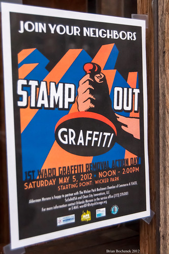 "Stamp Out Graffitit!...... Another ""Feel Good"" Effort While Blood Flows 