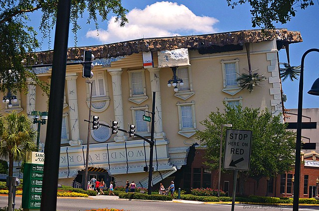 wonderworks upside down building orlando florida flickr photo sharing. Black Bedroom Furniture Sets. Home Design Ideas
