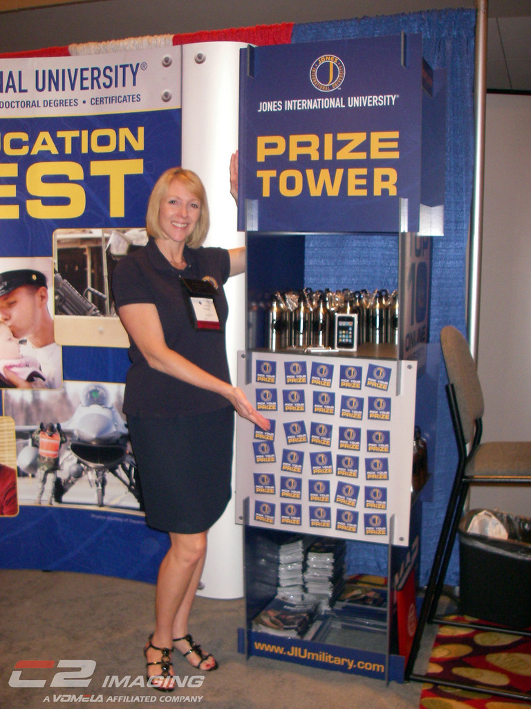 Trade Show Booth Quiz : Jones trade show game produced by c