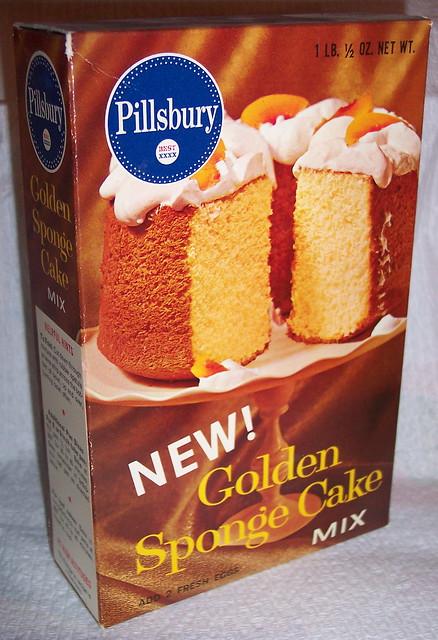 Pillsbury Sponge Cake Mix