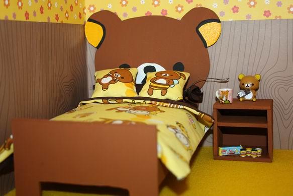 Rilakkuma bedroom | Fantine's bedroom. She's a Rilakkuma's ...