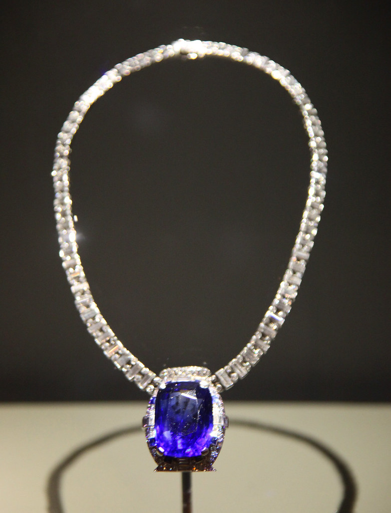 Bismarck Sapphire Necklace Smithsonian Museum Of Natural