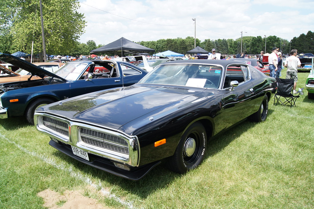 72 dodge charger 28th annual midwest mopars in the park ju flickr