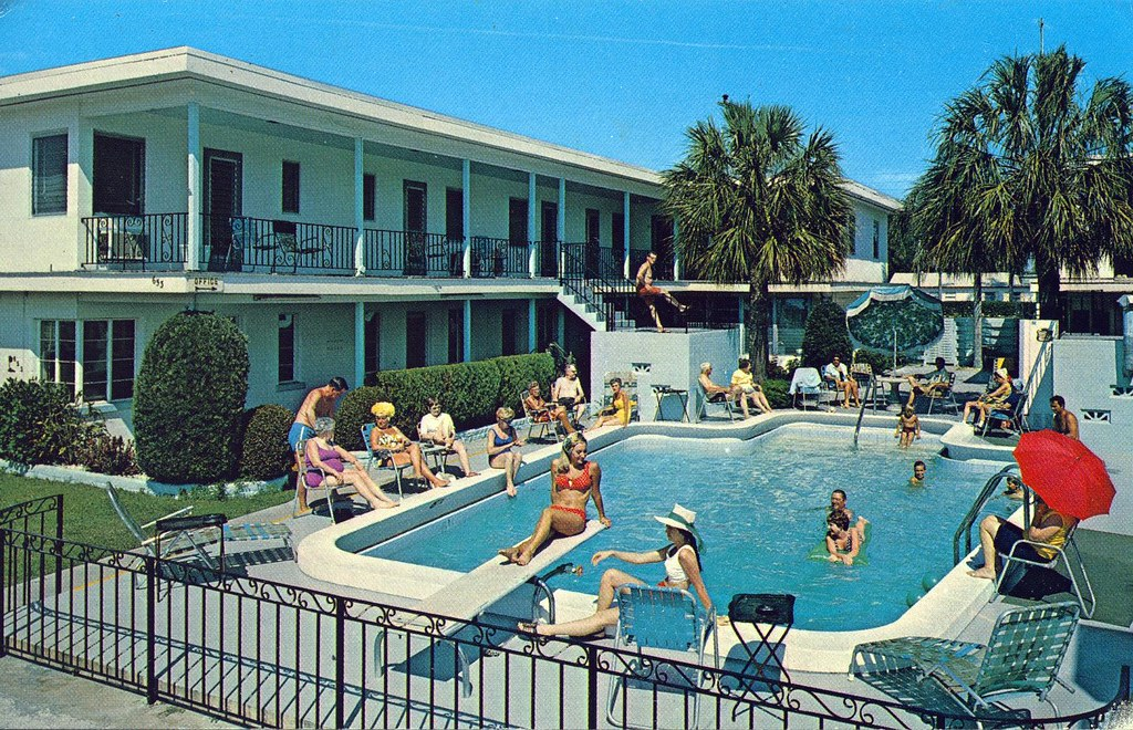 Royal Canadian Motel Clearwater Beach Florida