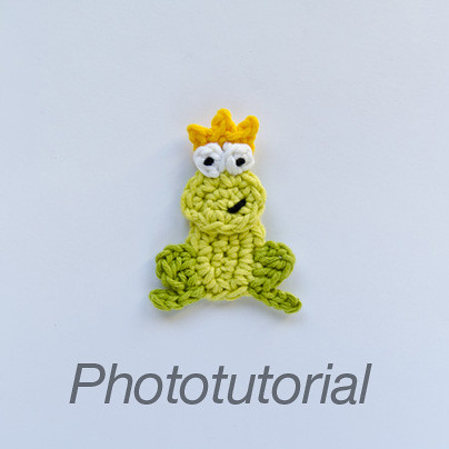 Ravelry: Frog Prince Crochet Pattern pattern by Amy Gaines
