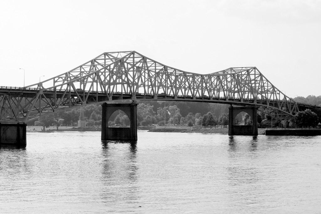 o u0026 39 neal bridge  w view from old railroad