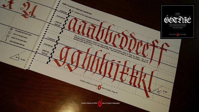 Learn gothic calligraphy and lettering flickr photo