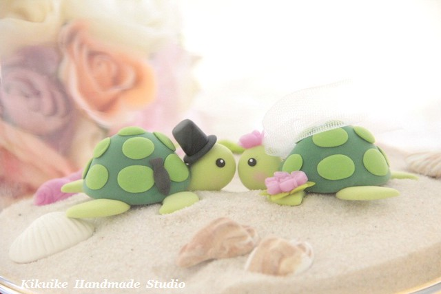 turtle wedding cake topper turtles wedding cake topper flickr photo 21319