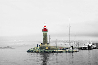 Saint Tropez light house | by #Rene