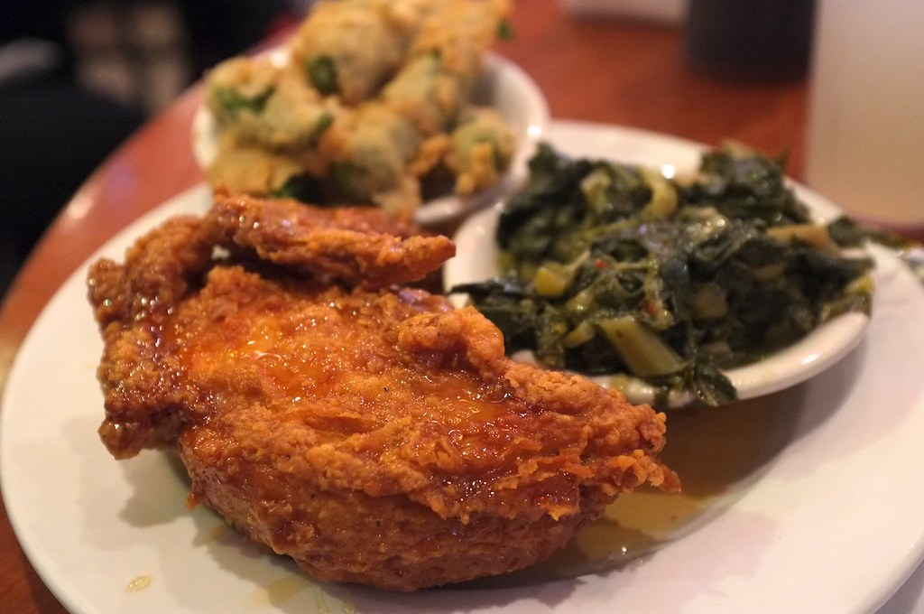 Sunday soul food | Southern style chicken, collard greens an ...