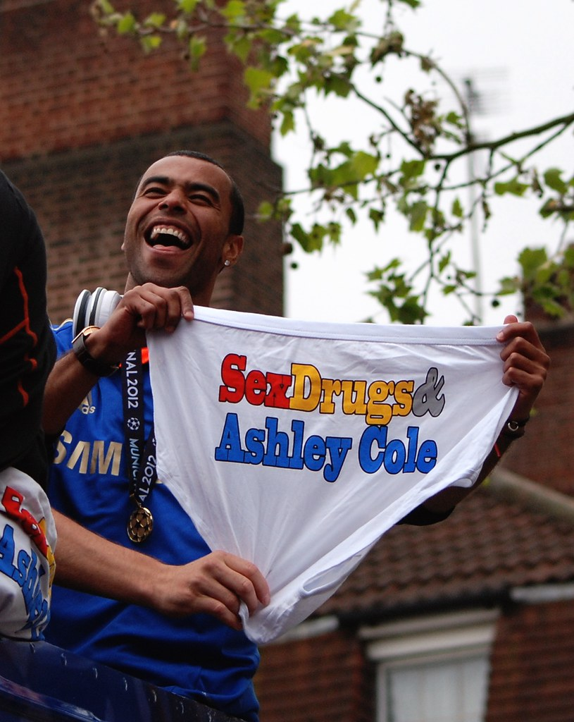 Chelsea European Champions Parade 2012 Ashley Cole …