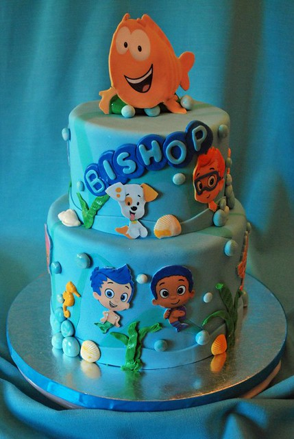 Bubble Guppies Cake Toppers Walmart
