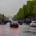 Paris in the rain, Champs Elysees