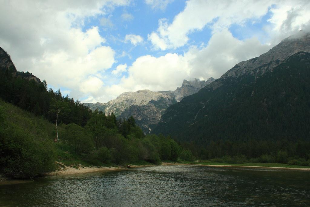 D 252 Rrensee Lago Di Landro Dolomites Italia Dmytrok