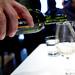 Pouring Viña Cartín, Albariño, Rias Baixas, Spain