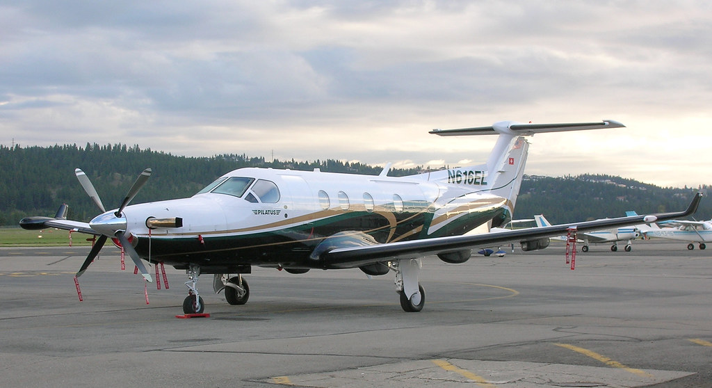 Yapcc 1b Pilatus Pc 12 45 Felts Field Spokane