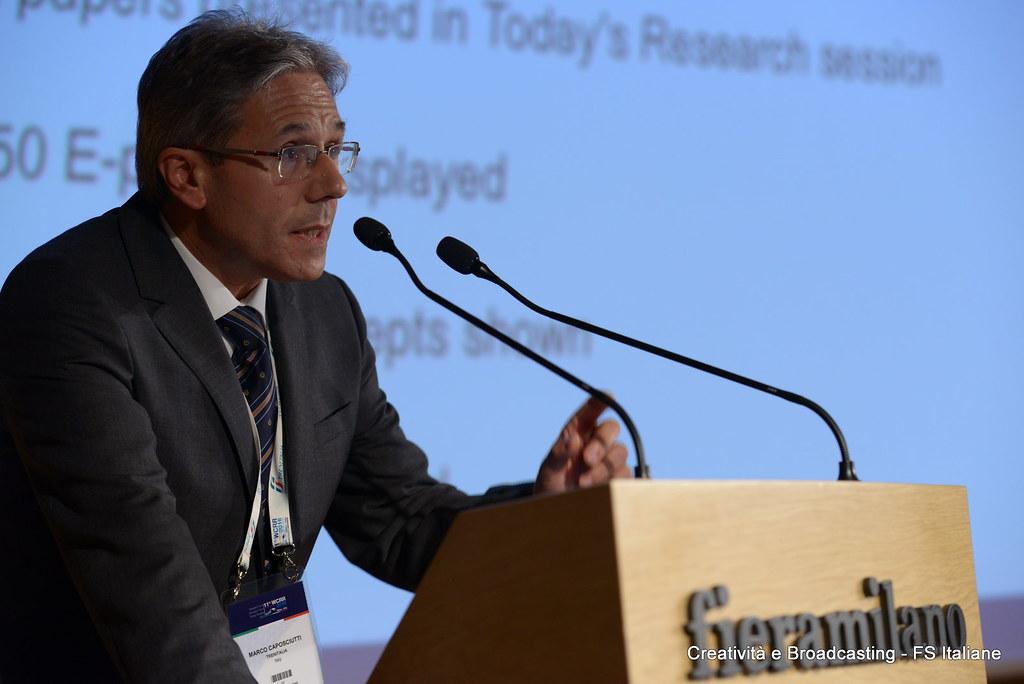Marco Caposcuitti, chefe de tecnologia da Trenitalia.