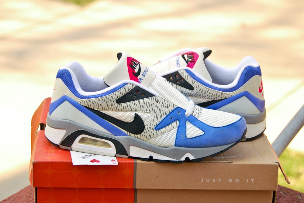 Nike Blue Camo Basketball Shoes