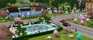 ts3_katyperry_s_sweettreats_newpoolvenue | by Beyond Sims