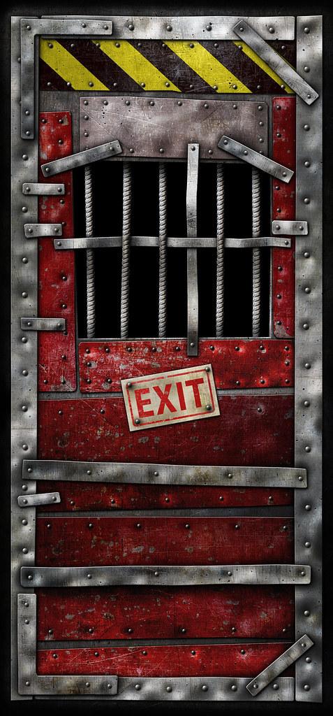 Left 4 Dead Safe Room Door Highres Safe Room Door 96 X