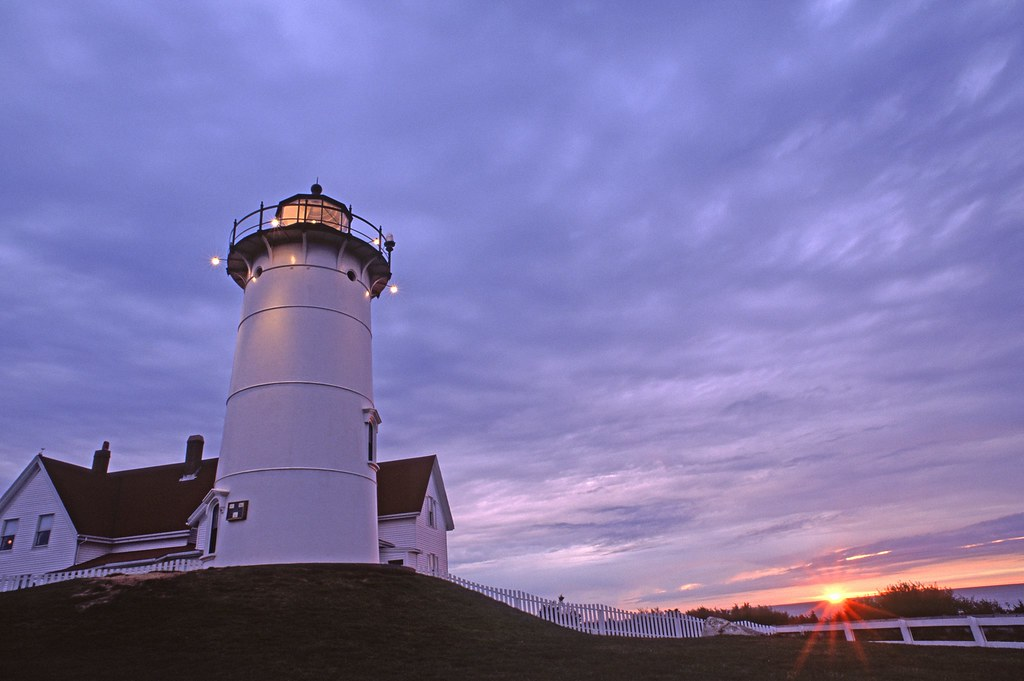 Falmouth Cape Cod | Woods Hole Nobska Point Lighthouse