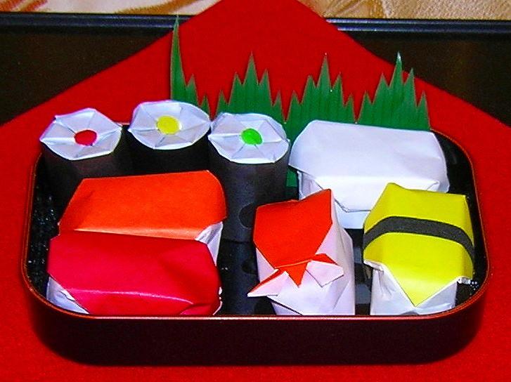 origami sushi lovewafoo flickr