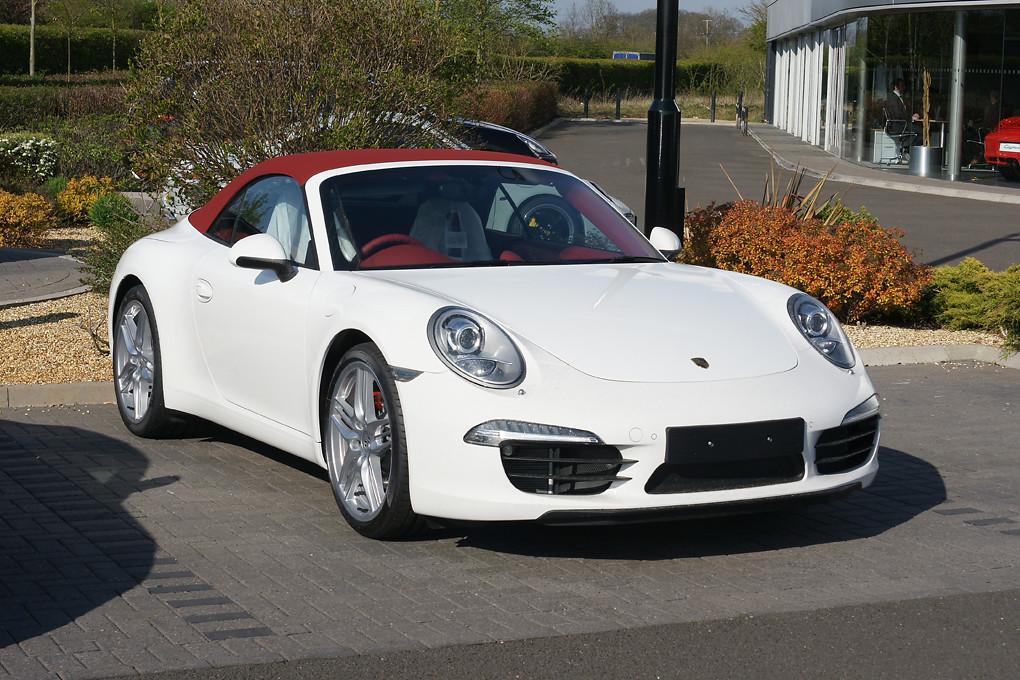 Porsche Carrera Porsche Showroom Towcester England