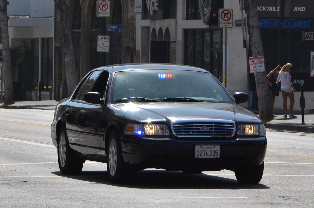 Los Angeles Police Department Lapd Ford Crown Victoria