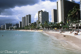 Waikiki Beach 1985 | by travelphotographer2003
