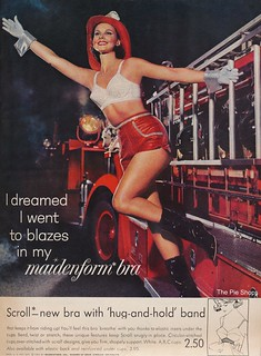I Dreamed I Went To Blazes in my Maidenform Bra | by The Cardboard America Archives