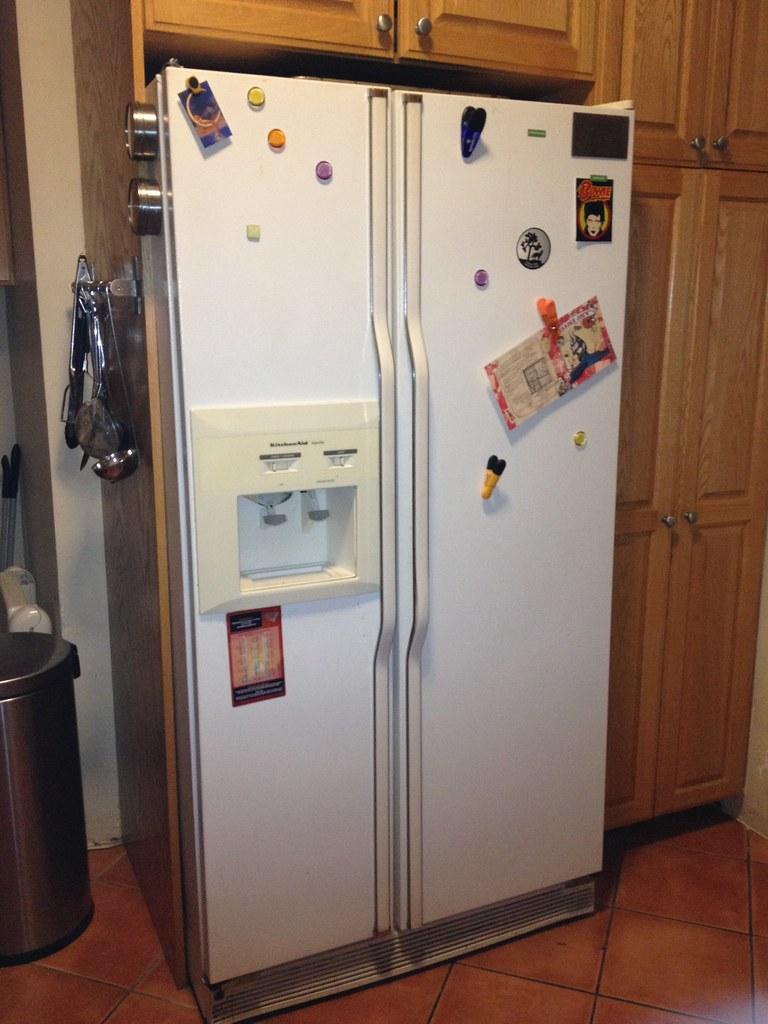 Kitchenaid Refrigerator Superba white kitchenaid superba refrigerator   superba with ice & w…   flickr