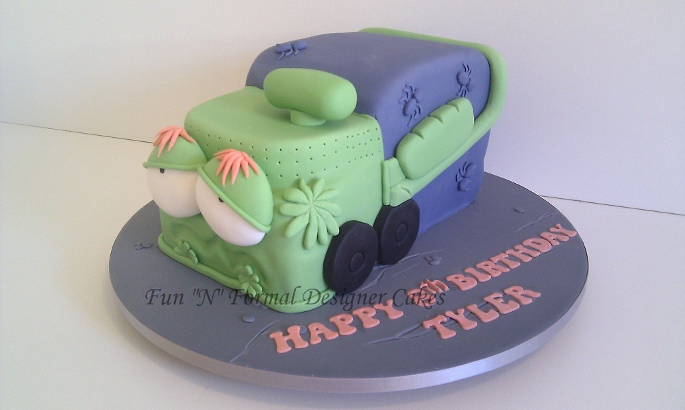 Trash Pack Compost Birthday Cake Melissa Woodward Flickr