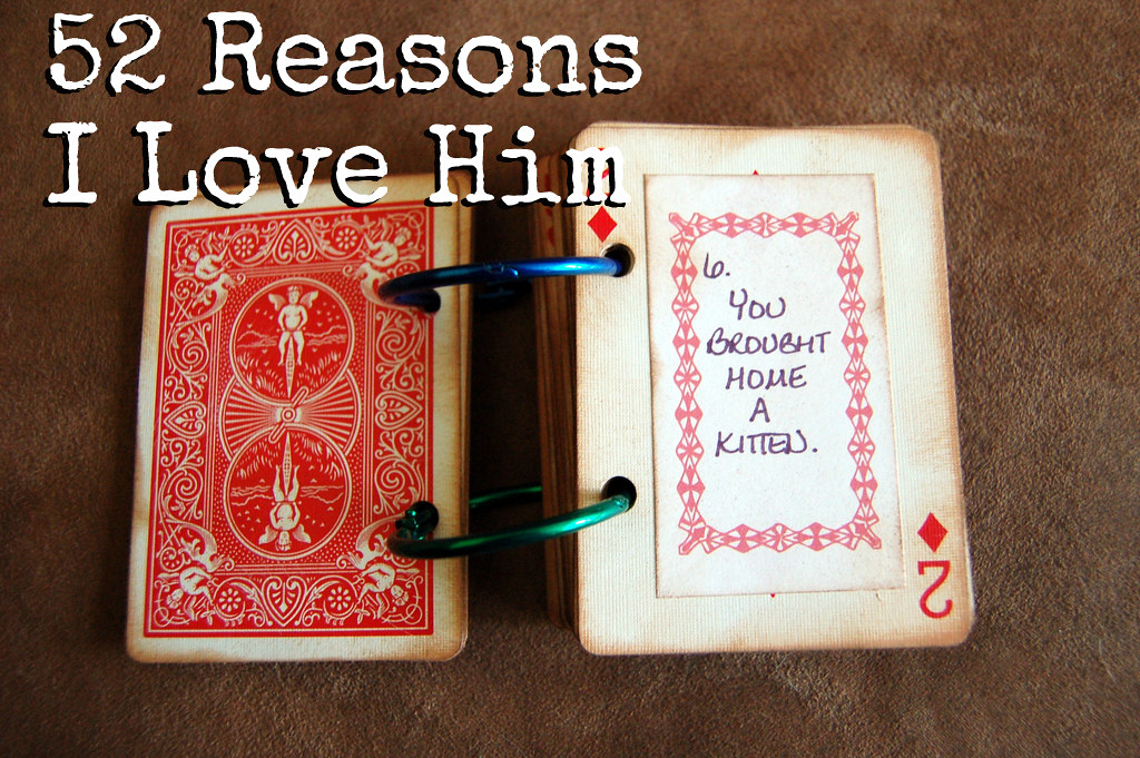 52 Reasons Why I Love You Tutorial Links Here Sarah