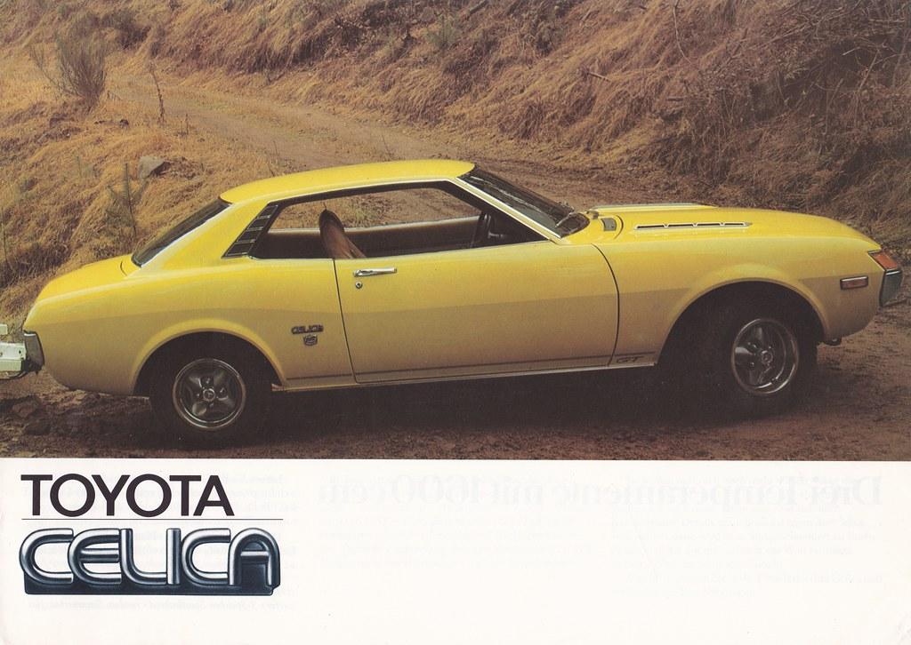 New Toyota Celica >> TA22 TOYOTA CELICA 1600 LT ST GT | VW/WD/2/3.75/200KO. Germa… | Flickr