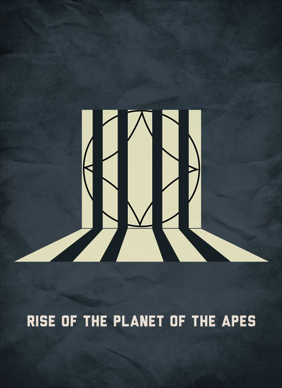 The Apes Minimalist Poster