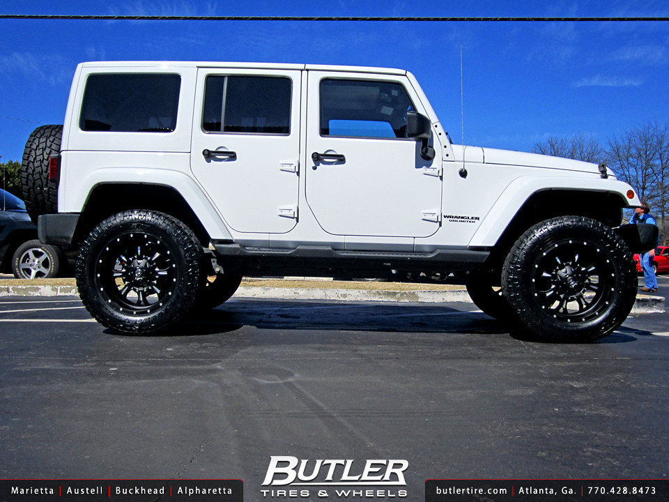 Jeep Wrangler With 20in Fuel Krank Wheels Additional