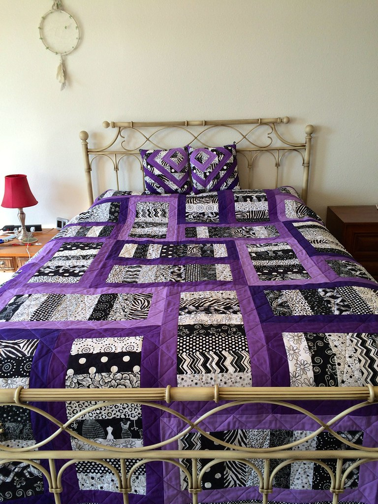 purple quilt | Darcie | Flickr : quilt purple - Adamdwight.com