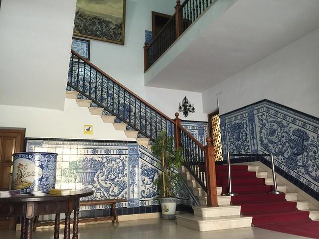 Interior del Ayuntamiento de Talavera