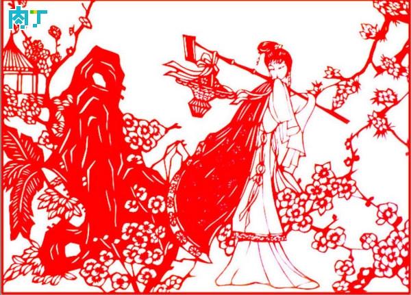 Introduction to shandan, Gansu folk paper-cutting, shandan decoupage appreciation