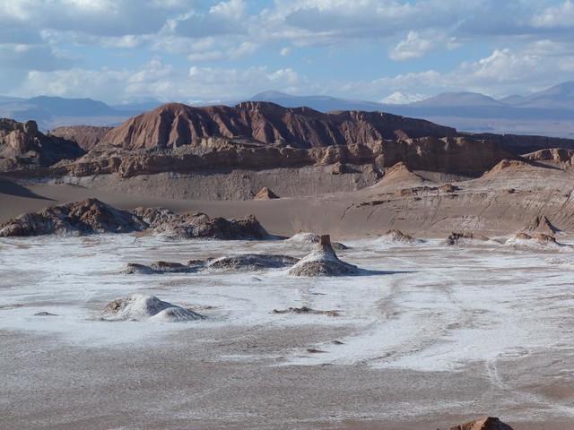 Valle de la Luna en el desierto de Atacama (Chile)