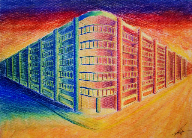 Dibujos de paisajes de colores calidos imagui - Paisaje con colores calidos ...