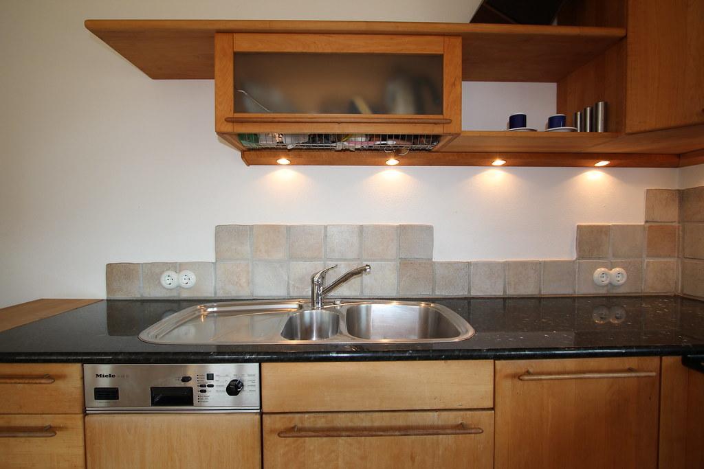 Fitted Alder Wood Kitchen Küche Einbauküche EBK Massivholz