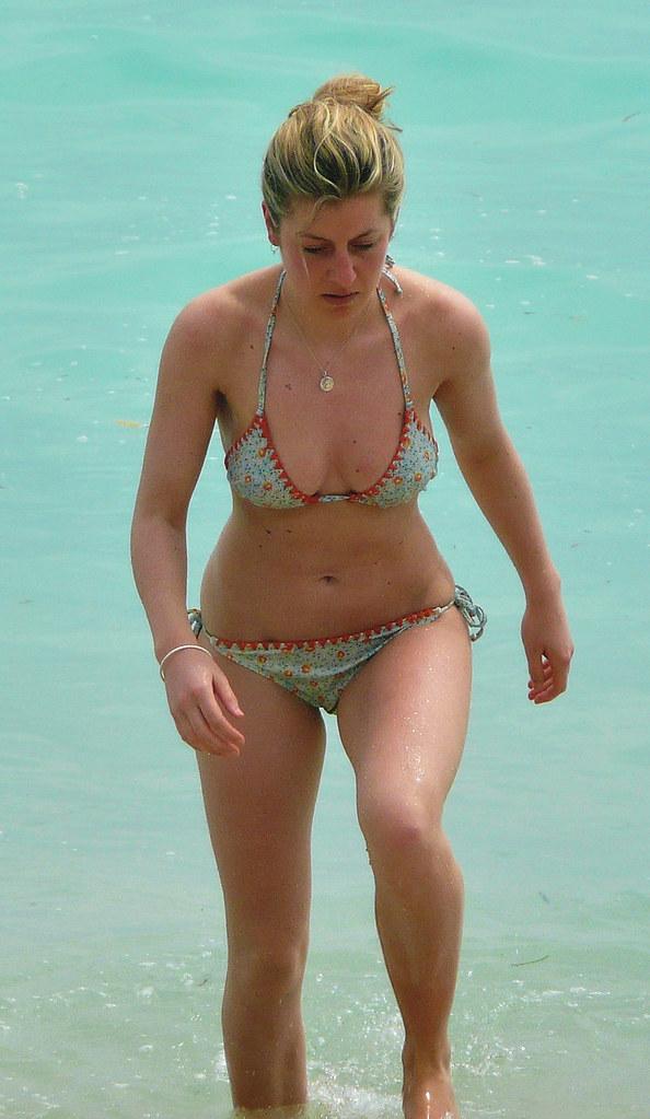 Girl At Unawatuna Beach - 2 - Sri Lanka - 2012  The -1184